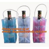 Best Promotional PVC cooler bag for wine, Custom Refillable Travel Plastic Pvc Bottle Ice Tote Red Wine Cooler Bag As Gift Wh wholesale