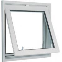 Best White 1.6mm profile thicknes powder coated aluminum awning windows for commercial building wholesale