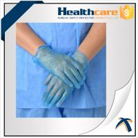 Best AQL1.5 PVC Disposable Hand Gloves ,  Powder Free Vinyl Medical Gloves wholesale