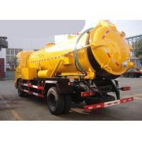 China Septic Tank Pump Truck 15-18CBM LHD 336HP / Sewage Vacuum Truck on sale