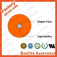 China high quality sm mode 0.9mm micro gjjv blue tight buffer fiber optic cable for network pigtail cable indoor G657A1 on sale