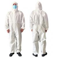 Best Airy Disposable Protective Clothing For Clean Room / Pharmaceutical Industry wholesale