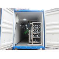China RO UV Water Purifier Water Filter RO Containerized Water Treatment Plant on sale