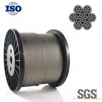 Best Flexible 304 4mm Stainless Steel Wire Rope 6x19S IWRC Bright Surface For Engineering wholesale