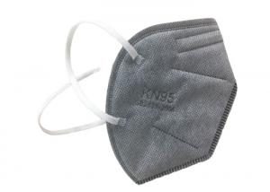 Best Foldable Grey Valved Air Pollution KN95 Dustproof Mask wholesale