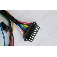 China Braided Computer Internal JST Wire Harness , SMP Connector Wiring Harness on sale