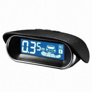 China Parking Sensor/Radar/Car Reversing Aid with Ultra Blue Fashionable Design LCD Display on sale