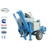 Best 2.5km/H Electrical Cable Pulling Equipment , 4800kg Hydraulic Cable Puller wholesale