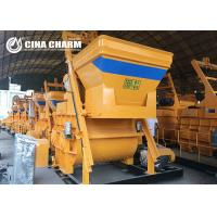 Best Twin Shaft Concrete Mixer Machine Easy Operate With 500L Discharging Capacity wholesale