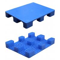 China HDPE Double Faced Heavy Duty Plastic Pallets 4 Way Entry 2000kg Static Load on sale
