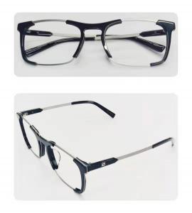optical glass , Accetate,Black, Siliver,optical frame,eyewear frame