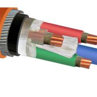China IEC 60502 IEC 60228 Copper Wire Cable / Armored Electrical Power Cable on sale