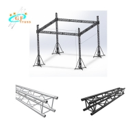 Best 14M Safety Span 6082 Aluminum Stage Truss For Hanging Displays wholesale