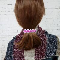 China Artifical Orchid Flower Girls Hair Clips Accessories Pieces For Party on sale