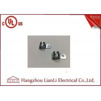 China 3/8 Steel EMT Conduit Fittings Two Hole with Electro Galvanized Finish on sale