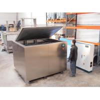 China Valve Plates Industrial Ultrasonic Cleaning Machine To Remove Dust Fibers Contaminationg on sale