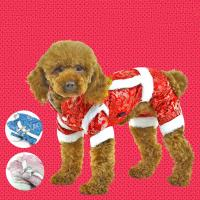 Traditional Chinese dog apparel for new year holiday