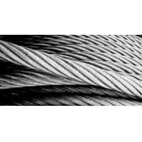 China Ungalvanized Steel Wire Rope 6*19+FC on sale