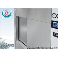 Best Single Sliding Door Pharmaceutical Autoclave With Fully 304 Chamber Steel Jacket wholesale