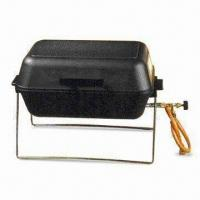 Best Die-cast Aluminum Quality Portable Gas BBQ Grill with Regulating Valve and Lava Rocks wholesale