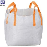 Virgin PP Material 1 Ton Tote Bags / Flexible Bulk Container For Packing for sale