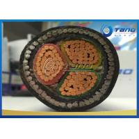 China XLPE Insulated PVC Sheath Electrical Power Cable LV Three Core Armoured Cable on sale