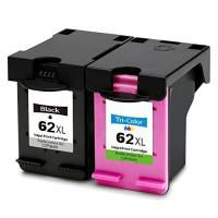 China High capacity remanufactured /Compatible HP ink cartridge 62XL for HP 5640 5660 5740 printer on sale