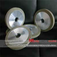 Best 1A1 Flat shaped Resin diamond grinding wheel for tungsten carbide wholesale
