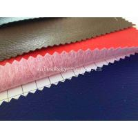 Cheap Faux Upholstery Home Textile Synthetic PVC / PU Artificial Leather For Living Room for sale