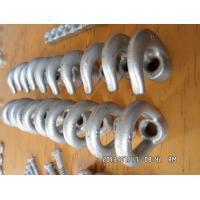 China Power line hardware Forged oval eye nut, galvanized nonstandard eye nut on sale