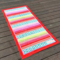 China Over Sized Jacquard Cotton Promotional Beach Towels With 38 X 68 Inch on sale