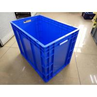 Best Virgin Polyethylene Blue 600*400 mm Euro Stacking Containers With Loading Capacity 40kg wholesale