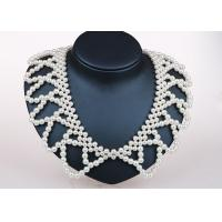 Best Unique Handcrafted Pearl Jewelry Designs , Detachable Collar Fashion Jewelry Necklaces wholesale
