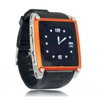 Best MQ668 Bluetooth smart watch phone GSM unlocked with camera black color wholesale