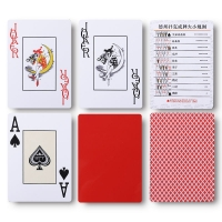Best 0.32mm Material Personalized Playing Card Set CMYK Color Printing wholesale