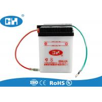 Buy cheap Small 6v 4Ah Lead Acid Motorcycle Battery Dry Charged 88 * 85 * 96mm Durable from wholesalers