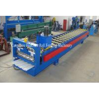 Best Trapezoid Cold Roll Forming Machine With Manual / Hydraulic Uncoiler wholesale