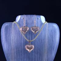 Best High Quality Stainless Steel Jewelry Set LUS90-3 wholesale