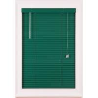 Cheap PVC Venetian Window Blinds Glossy with Headrail / Bottomrail for sale