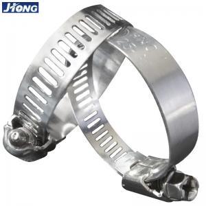 Best American / German Type Stainless Steel Hose Clamps Pipe Metal Tie Higher Torque wholesale