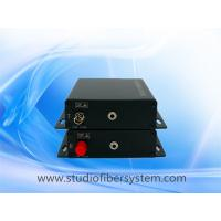 Best fiber optic stereo audio to 3.5mm converter for 1 ch 3.5mm broadcast stereo audio over fiber extenders to 10~120KM wholesale