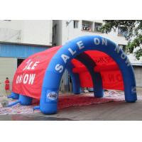 Best OEM Custom Blow Up Tent , Arch Shaped Inflatable Family Tents 8x6x4.5m Dimension wholesale