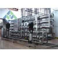 Best SS Membrane Housing Borehole Water Treatment Systems , Salt Water Filtration Systems wholesale