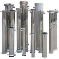 Best End / Side Port 304 Stainless Steel RO Membrane Housing For Water Treatment wholesale