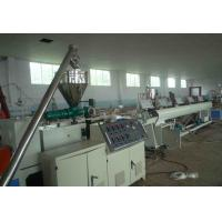 Best PVC 4 - Cavity Pipe Extrusion Production Line / Plastic Pipe Threading Machine wholesale