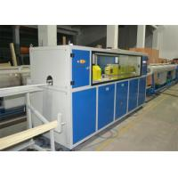 China AC Frequency Control Pvc Pipe Manufacturing Machine For Pvc Pipe Production Line on sale