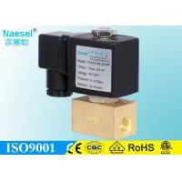 China 3000 PSI High Pressure Solenoid Valve For Air Compressor / Injection Machine on sale