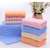 China Cheap modern dobby 450GSM cotton terry face towels for sale on sale