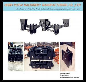 Best heavy duty trailer German style suspension parts balance arm for car carrier trailer wholesale