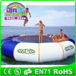 Best QinDa Hot selling Outdoor Water Sports Games water blob trampoline wholesale